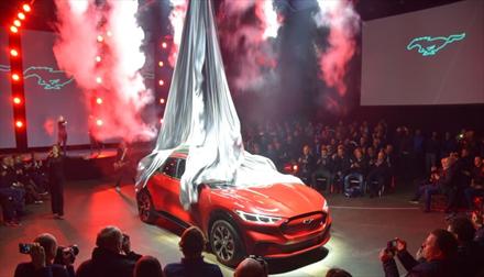 Forsinket: Mustang Mach-E er korona-utsatt til 2021