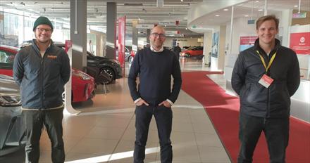 Toyota-forhandlere i samarbeid med Polestar-partner