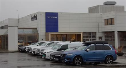 Nesten 300.000 til Volvo-forhandler