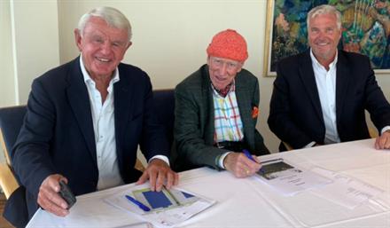 Olav Thon bygger 23.000 kvadratmeter for Egil Stenshagen