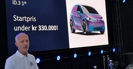 VW ID.3: - Startpris under 330.000 kroner