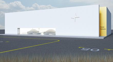 Bekrefter at det skal bygges flere nybil-lokasjoner for Polestar i Norge