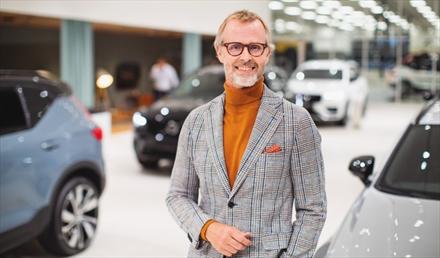 Volvo-forhandler frykter ikke fremtiden og tror på nye rekordresultater