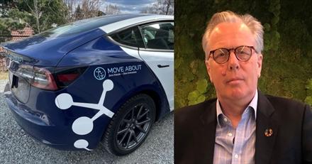 Tesla Model 3 skal gi vekst for mobilitetsselskap