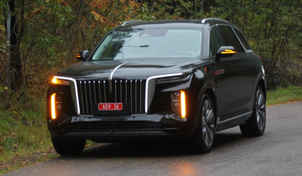Her er luksus-elbilen fra Motor Gruppen