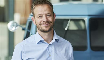 Her er Volkswagen sitt nye ansikt utad i Norge