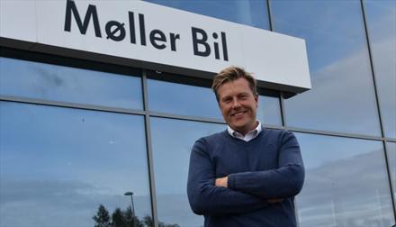 Møller Bil-forhandler sikter mot omsetningsrekord