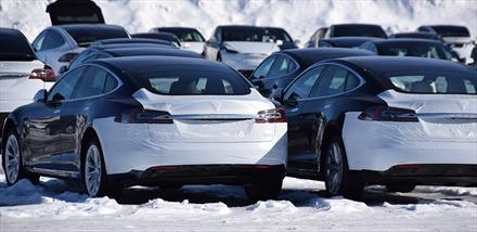 11 % av alle Tesla gikk til Norge