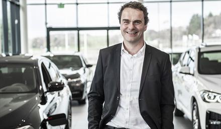 Hedin-sjef Stig Sæveland omkom i bilulykke