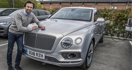 Bentley-salget i gang