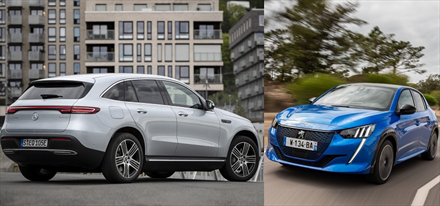 Peugeot og Mercedes-Benz på fremmarsj